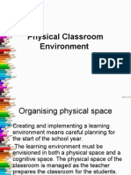 Physical Classroom Environment