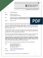 AQB January 2015 Exposure Draft - Background Checks
