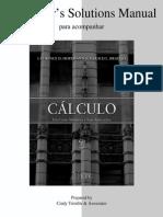 Cálculo Um Curso Moderno e Suas Aplicações- Hoffmann e Bradley RESOLUÇÃO