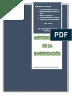 Metododologia de La Investigacion