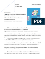 Análisis Material Curricular libro de texto Dando la Nota