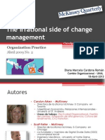 Presentación The Irrational side of change management by DMC-Mckinsey 2009
