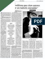 Entrevista Valente Vanguardia
