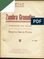 Zambra Granadina