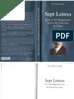 Lomer Dr Georg - Sept Lettres Sur Le Developpement Secret Des Pouvoirs de l Ame