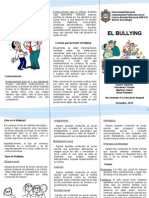 Triptico Sobre El Bullying