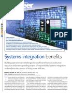 System Integration Benefits