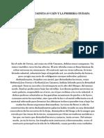 El Arquitecto Cainita_caín y La Primera Ciudad