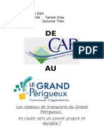 La politique de mobilité durable de la communauté d'agglomération du grand Périgueux