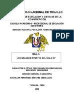 Clase Licenciatura Cesar