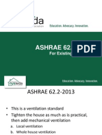 Ashrae IAQ for Existing Residential