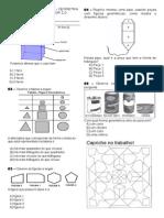 Simulado de Geometria