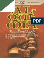Alquimia - Titus Burckhardt