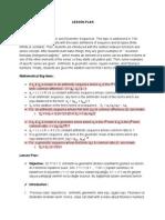 arithmeticgeo series docx