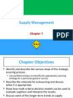 Supply Chain Chapter 7 Review