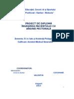 angina Pectorala