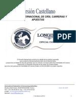 Acuerdo Internacional de Cria Carreras y Apuestas 2014-Castellano Ultima