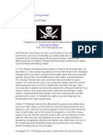 Pirate Jackrackham Flag History