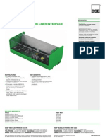 DSE123 Data Sheet