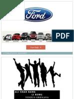 Strategic Management Slide (FORD)