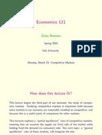 ECON 121 Lecture 14
