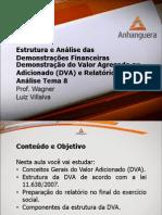 Estrutura e Analise Das Demonstracoes Financeiras Aula 08 Tema 08