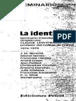 Claude Lévi-Strauss - 1977 - La identidad (Parte 1).pdf