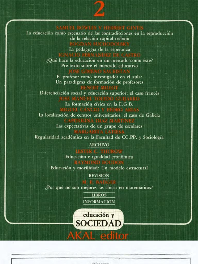 Educación y Sociedad 02