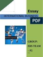 International Business Case