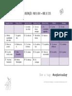 2015 - Calendário #aophotoaday - Abril