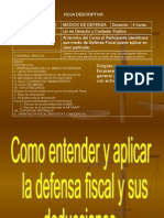 Curso de Defensa Fiscal
