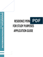 How to Fill in the Residence Permit