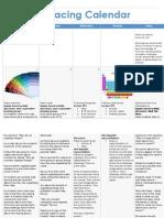 UbD Pacing Calendar