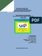 PRIMERA FASE (Análisis de la Situación)