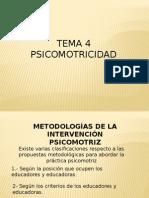 Contenidos de La Practica Psicomotriz