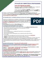 Edital -Certifica+º+úo - Agosto- 2013