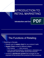 Topic 1 Mkt326 Intro to Retail Mktg