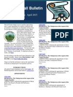 The Calvin Ball Bulletin Legislative Edition April 2015