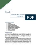 Tema 8. Organización Documental Del Proyecto