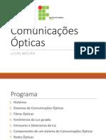 Comunicações Ópticas - Unidade 1 e 2