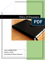 Diary of Discovery