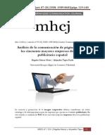 Análisis Web de Las 50 Grandes Empresas Publicitarias