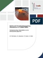 Onderzoek Verplaatsingsgedrag Vlaanderen 4.1 (2008 - 2009) Analyse Globaal