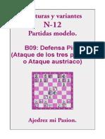 B09 - 12-  Defensa Pirc (Ataque de los tres peones o Ataque austriaco).pdf
