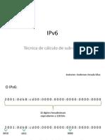 IPv6 - Cálculo de Sub-rede