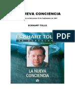 La Nueva Conciencia Edckhart Tolle