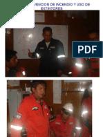 Curso Prevencion de Incendio y Uso de Extintores