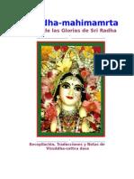 Sri Radha Mahimamrta