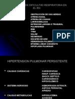 Casificacion de Dificultad Respiratoria en El Rn