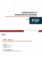 introducción a finanzas
